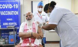 COVID-19: PM Modi's first dose of Corona vaccine
