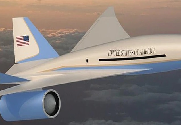 Joe Biden's fleet will include Supersonic Jet flying at a speed of 2222 km / h, photos go viral