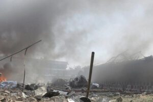 3rd bomb blast reported at Kabul airport, 64 killed including 10 US commandos