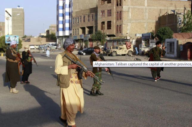 Taliban enter in Afghanistan's capital Kabul